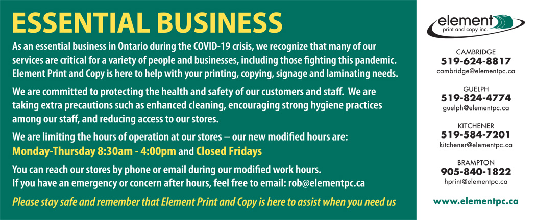 Essential Business - Element Print and Copy